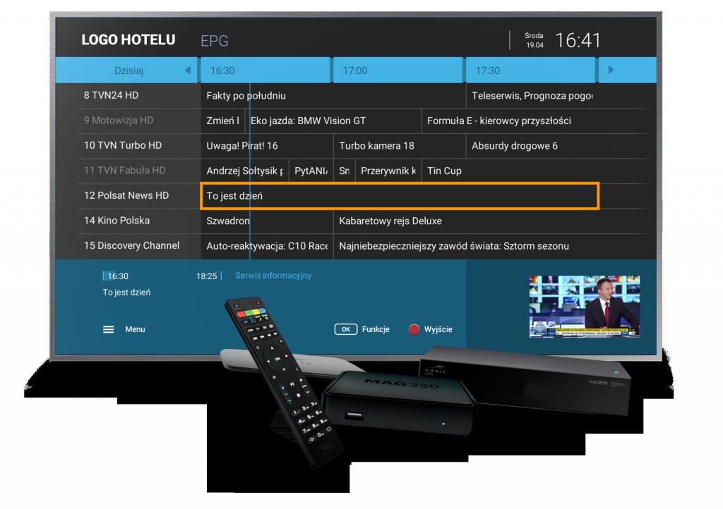 Telewizja hotelowa